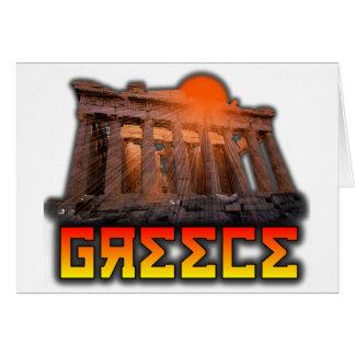 Greece - Acropolis Card