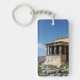 Greece Acropolis Erechtheum Keychain