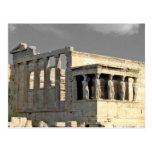 greece / acropolis post card