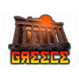 Greece - Acropolis Postcard