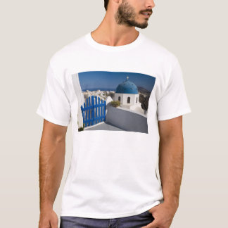 Greece and Greek Island of Santorini from the T-Shirt