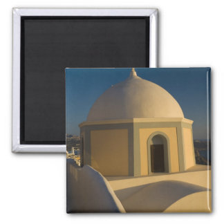 Greece and Greek Island of Santorini town of 2 Magnets
