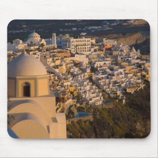 Greece and Greek Island of Santorini town of Mouse Pad