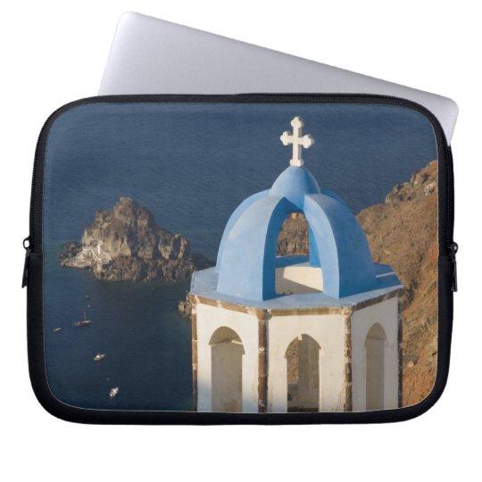 Greece and Greek Island of Santorini town of Oia 2 Laptop Sleeve