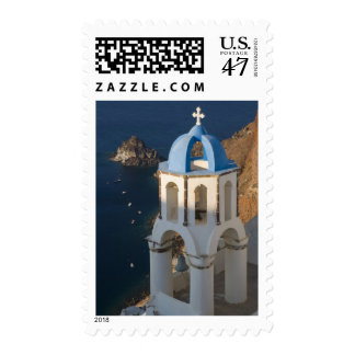 Greece and Greek Island of Santorini town of Oia 2 Postage Stamp