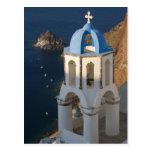 Greece and Greek Island of Santorini town of Oia 2 Postcard
