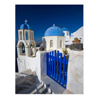 Greece and Greek Island of Santorini town of Oia 3 Postcard