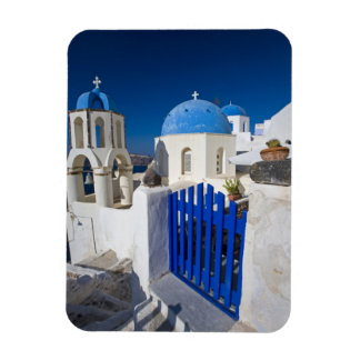 Greece and Greek Island of Santorini town of Oia 3 Rectangular Photo Magnet