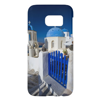 Greece and Greek Island of Santorini town of Oia 3 Samsung Galaxy S7 Case