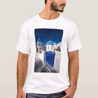 Greece and Greek Island of Santorini town of Oia 3 T-Shirt