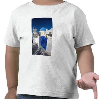 Greece and Greek Island of Santorini town of Oia 3 Tee Shirt