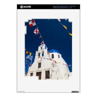 Greece and Greek Island of Santorini town of Oia 4 iPad 3 Decal
