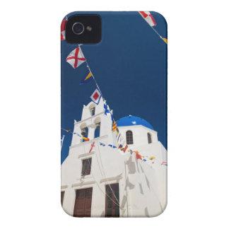 Greece and Greek Island of Santorini town of Oia 4 iPhone 4 Case