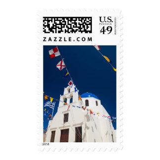 Greece and Greek Island of Santorini town of Oia 4 Postage Stamp