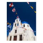 Greece and Greek Island of Santorini town of Oia 4 Postcards