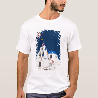 Greece and Greek Island of Santorini town of Oia 4 T-Shirt