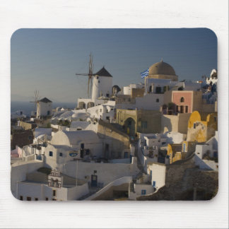 Greece and Greek Island of Santorini town of Oia Mouse Pad