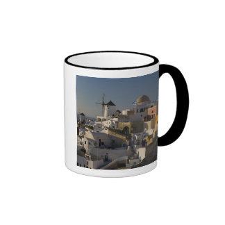 Greece and Greek Island of Santorini town of Oia Ringer Mug