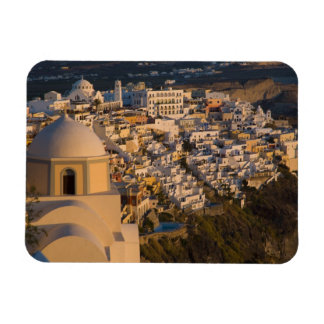 Greece and Greek Island of Santorini town of Rectangle Magnets