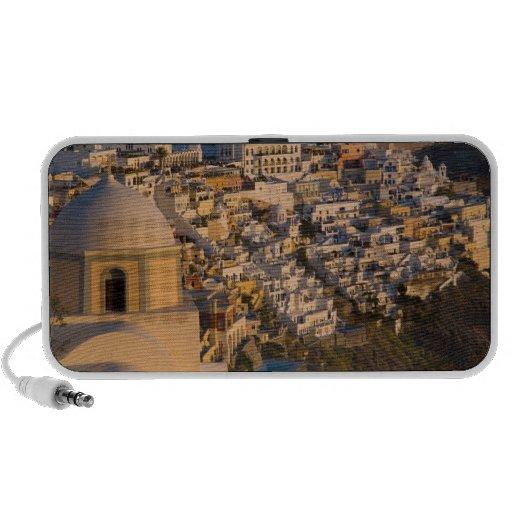 Greece and Greek Island of Santorini town of Travelling Speaker