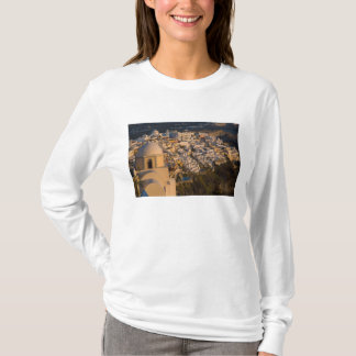 Greece and Greek Island of Santorini town of T-Shirt