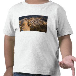 Greece and Greek Island of Santorini town of T-shirts