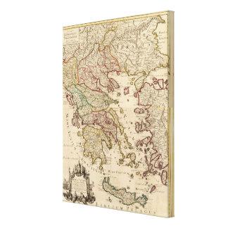 Greece and Macedonia Canvas Print