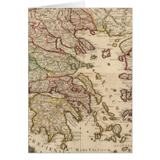 Greece and Macedonia Card