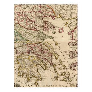 Greece and Macedonia Postcard