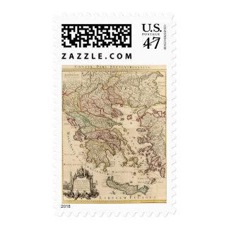 Greece and Macedonia Stamp