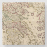 Greece and Macedonia Stone Coaster