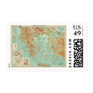 Greece and the Aegean Stamp
