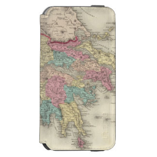 Greece And The Ionian Republic iPhone 6/6s Wallet Case