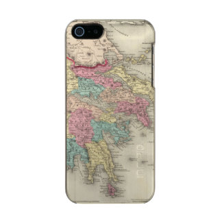 Greece And The Ionian Republic Metallic Phone Case For iPhone SE/5/5s