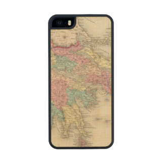 Greece And The Ionian Republic Wood iPhone SE/5/5s Case
