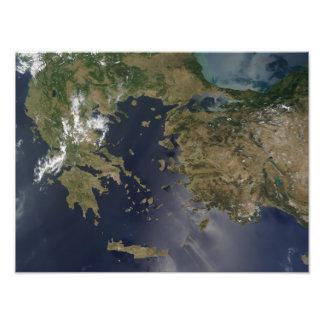 Greece and Turkey Photo Print