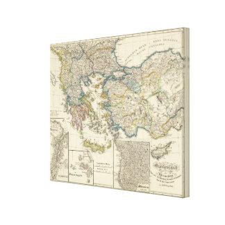 Greece, Asia Minor 1453 Canvas Print