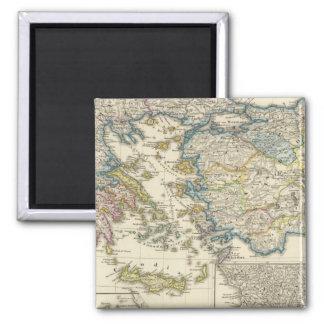 Greece, Asia Minor 1453 Magnet
