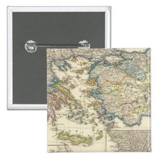 Greece, Asia Minor 1453 Pinback Button