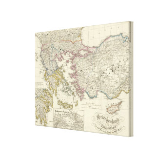 Greece, Asia Minor Canvas Print
