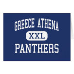 Greece Athena Panthers Middle Rochester Greeting Cards