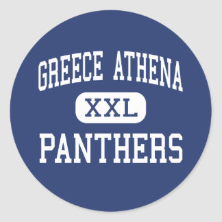 Greece Athena Panthers Middle Rochester Classic Round Sticker