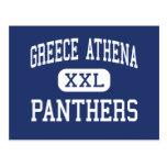 Greece Athena Panthers Middle Rochester Post Cards