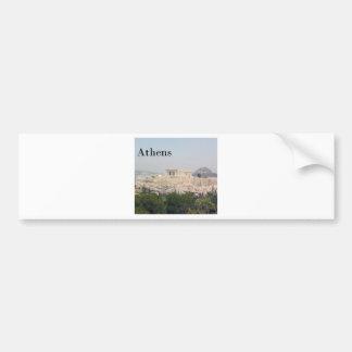 Greece Athens Acropolis Bumper Sticker