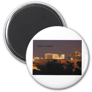 Greece - Athens - Acropolis (by St.K) Refrigerator Magnet