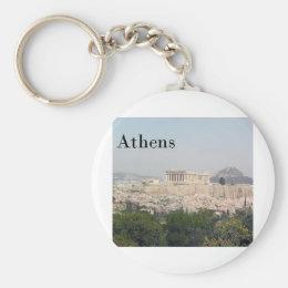 Greece Athens Acropolis Keychain