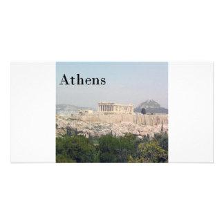 Greece Athens Acropolis Photo Greeting Card