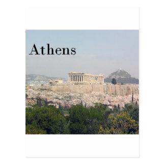 Greece Athens Acropolis Postcard