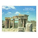 Greece, Athens Acropolis, Propyleum Postcard