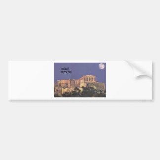 Greece Athens Akropolis Parthenon (St.K) Bumper Sticker